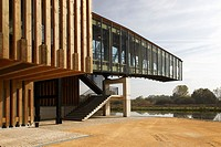 Ataria Nature Interpretation Centre, Salburua wetland, Vitoria, Alava, Basque Country, Spain