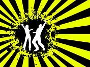 Grunge dancing