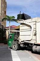 Solid waste trash collection Bradenton Florida