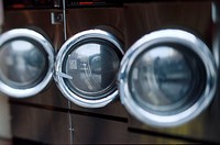 Washers in Laundromat