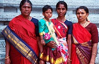 Hindu Women With Child
