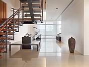 Interior minimalistic modern home