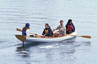 Canoeing With Friends