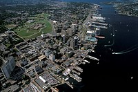 Aerial of Halifax, Nova Scotia, Canada