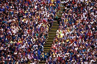 Crowds at Commonwealth Games, 1994 Victoria, British Columbia, Canada