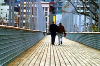 Across a bridge