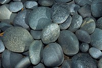 Close_up of a pile of weathered stones