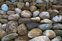 Close-up of a pile of weathered stones (thumbnail)