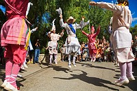´Cossiers´ dance festival, Alaro, Majorca, Balearic Islands, Spain