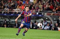 Barcelona, Camp Nou Stadium, 20/10/2009, UEFA Champions League, FC Barcelona vs. FC Rubin Kazan, Leo Messi