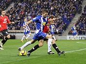 Cornellá-El Prat Stadium, 24/01/2009, Spanish League, RCD Espanyol vs. Real Mallorca, Luis Garcia
