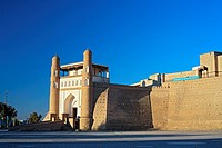 Entrance to the Ark fortress, Bukhara, Uzbekistan
