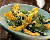 Deep_fried courgette flowers