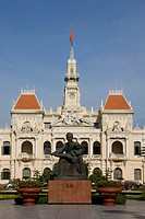 The City Hall of Saigon City, Vietnam, Asia