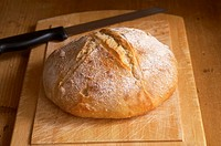 Sour Dough Loaf of Bread