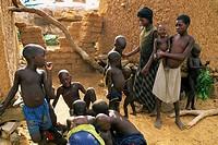 dogon people, mali