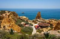 Restaurant, Algar Seco, Algarve, Portugal