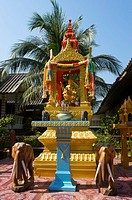 Shrine, Mae Nam Beach, Ko Samui, Thailand