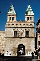 Puerta Nueva de Bisagra town gate, Toledo, Castilla-La Mancha, Spain