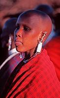 Massaï woman, Tanzania