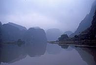 Rock peaks near Hoa Lu,Vietnam