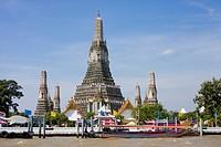 Wat Arun Tempel der Morgenröte, Bangkok, Thailand, Asien