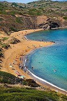 Caballeria Beaches. Minorca. Balearic Islands. Spain