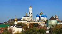 Trinity Lavra of St  Sergius, Sergiyev Posad, UNESCO World Heritage Site, Moscow region, Russia