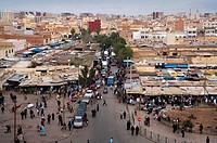 Market, Joutia d´Oujda square, Oujda, Oriental region, Morocco