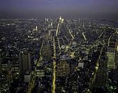 Aerial view of a city, Manhattan, New York City, New York State, USA
