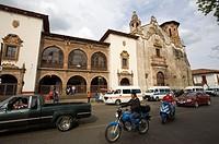Zocalo Square. Pátzcuaro. Mexico