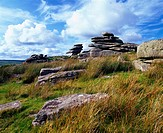 The Cheesewring on Stowe's Hill on Bodmin Moor near Minions, Cornwall, United Kingdom