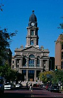 Facade of a courthouse, Tarrant County Courthouse, Tarrant County, Fort Worth, Texas, USA