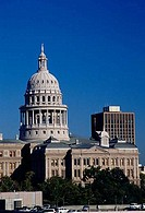 Government building in a city, Texas State Capitol, Austin, Texas, USA