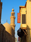 Madrasa del Sultán Barquq, calle histórica Al Mu´izz, El Cairo, Egipto