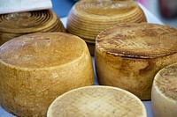 close_up of Italian cheeses