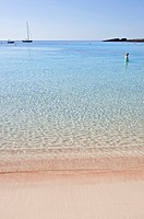 Beach, Binibeca, Minorca, Balearic Islands, Spain