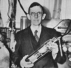 Clinton Joseph Davisson 1881_1958, an American physicist who co_won with George Paget Thomson the 1937 Nobel Prize in Physics for his discovery of ele...