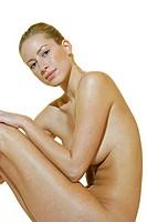 beautiful nude model healthy body
