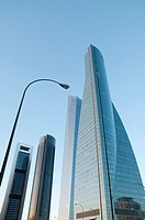 Cuatro Torres Business Area. Madrid, Spain.