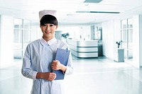 Portrait of young nurse