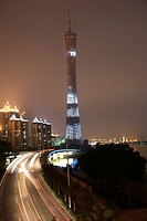 Guangzhou Television Broadcasting Tower,Guangdong,China
