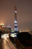 Guangzhou Television Broadcasting Tower,Guangdong,China