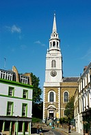 Clerkenwell Green and St James' Church, London, England