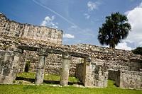 Archeological site Kabah, El Palacio, Codz Pop, Yucatán, México