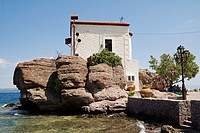 Skala Sikaminias, Lesvos,Church Panagia Gorgona Greece