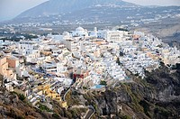 Greece, Cyclades, Santorini  City of Fira