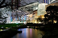 Roppongi Hills, modern building and shopping complex