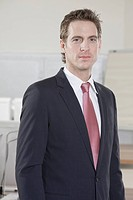 Germany, Munich, business man, portrait, close-up (thumbnail)