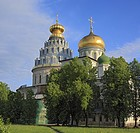 Resurrection cathedral, 1685, New Jerusalem monastery, Istra, Moscow region, Russia